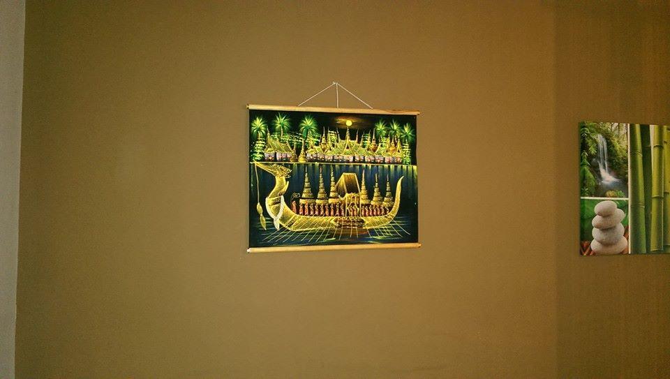 Originálna dekorácia z Thajska-Ďeň